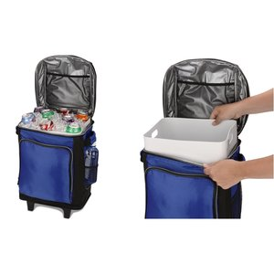 Coleman 42-Can Soft-Sided Wheeled Cooler Image 8 of 8