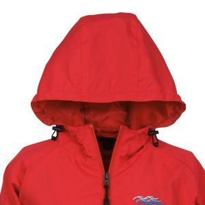 Colorblock Hooded Jacket - Ladies' Image 1 of 2