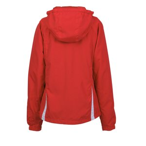 Colorblock Hooded Jacket - Ladies' Image 2 of 2