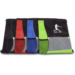 Colorblock Drawstring Sportpack Image 2 of 2