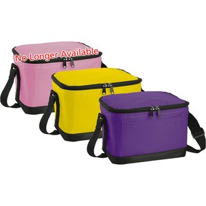 6-Pack Insulated Cooler Bag - 24 hr