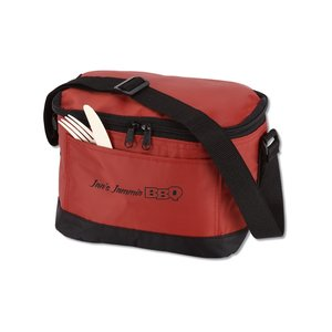 6-Pack Insulated Cooler Bag - 24 hr Image 3 of 4