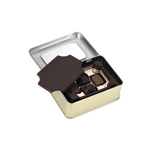 Dark Chocolate Box with Chocolate Bites - Small Image 1 of 2