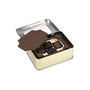Milk Chocolate Box with Chocolate Bites - Small Image 1 of 2