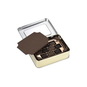 Milk Chocolate Box with Chocolate Bites - Large