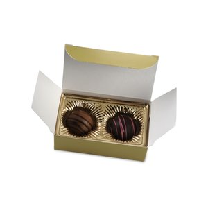 Truffles - 2 Pieces - Gold Box Image 1 of 6