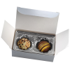 View Image 4 of 4 of Truffles - 2 Pieces - Silver Box