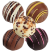 View Image 4 of 4 of Truffles - 4 Pieces - Gold Box
