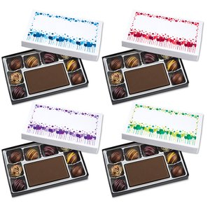 Truffles & Chocolate Bar - 8 Pieces - Cheer Image 1 of 1