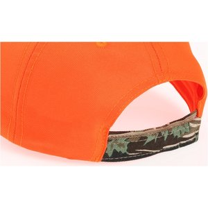 Two-Tone Camouflage Cap - Orange Image 1 of 1