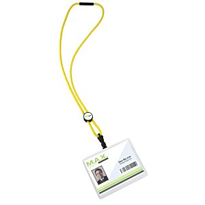 Nylon Power Cord Lanyard - Round Image 1 of 3
