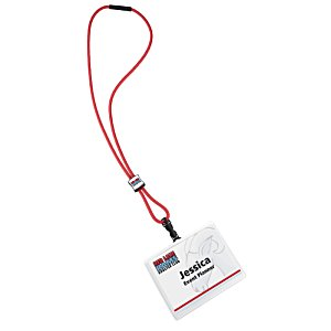 Nylon Power Cord Lanyard - Square