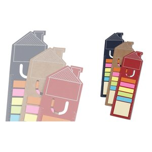 Bookmark Ruler w/Note and Flag Set - House Image 2 of 2