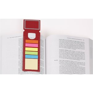 Bookmark Ruler w/Note and Flag Set - Rectangle Image 1 of 1