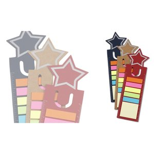 Bookmark Ruler w/Note and Flag Set - Star Image 2 of 2
