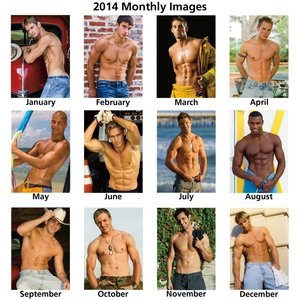 Male Physique Calendar Image 1 of 1