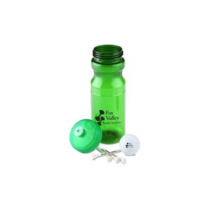 Golf Ball Tees Bottle Kit - Closeout Image 1 of 3