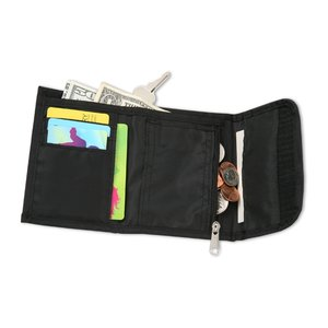 Wallet with Split Ring Image 1 of 2