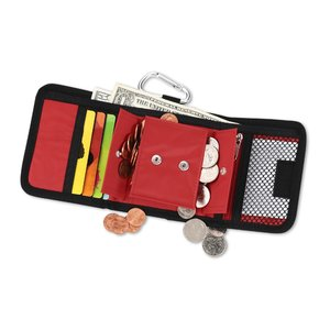 Wallet with Carabiner - Closeout Image 1 of 2