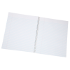 View Extra Image 1 of 1 of Poly Cover Notebook-10-7/8 x 8-3/16- Narrow Rule-Translucent