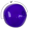 View Extra Image 1 of 3 of 16 inches Beach Ball - Translucent - 24 hr
