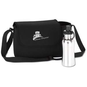 Arctic Zone Hydration Messenger Lunch Tote Image 2 of 3