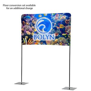 Tabletop Banner System with Back Wall - 6' Image 4 of 4