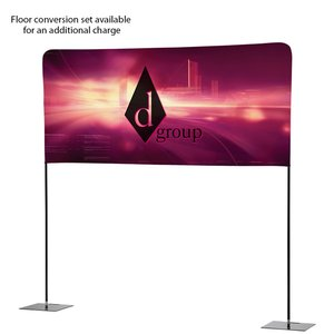 Tabletop Banner System with Back Wall - 8' Image 4 of 4