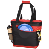 View Extra Image 1 of 5 of Convertible Cooler Tote - Embroidered