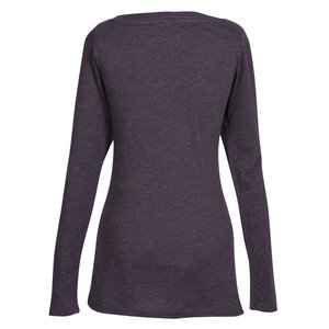 Next Level Tri-Blend LS Scoop Tee - Ladies' - Colors