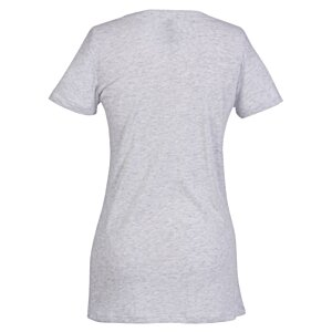 Next Level Tri-Blend Deep V-Neck T-Shirt - Ladies' - White Image 1 of 1
