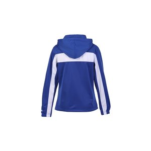 Badger Sport Brushed Tricot Hooded Jacket - Ladies' Image 1 of 2