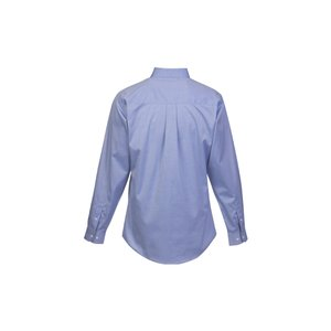 Wrinkle-Free Pinpoint Dress Shirt - Men's Image 1 of 1