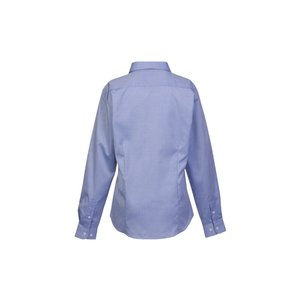 Wrinkle-Free Pinpoint Dress Shirt - Ladies' Image 1 of 1
