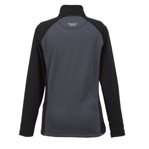 Microfleece Color Zip Pullover - Ladies' Image 1 of 1