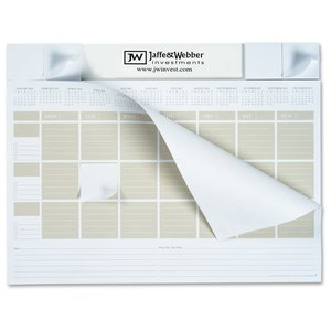 Adhesive Note Calendar Desk Pad Image 1 of 1