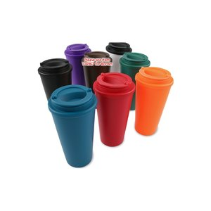 Savanah Travel Tumbler - 16 oz. - Overstock Image 2 of 2