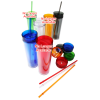 View Extra Image 1 of 1 of Hot & Cold Skinny Tumbler - 14 oz. - 24 hr