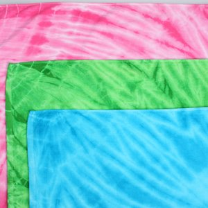 Tie-Dye Beach Towel Image 1 of 1