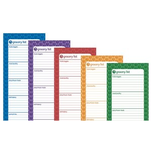 Bic Magnetic Manager Notepad - Grocery - 25 Sheet Image 1 of 2