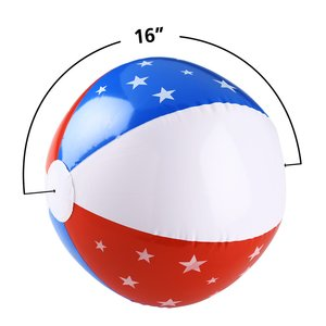 Patriotic Beach Ball Image 1 of 1