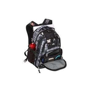 High Sierra Swerve Laptop Backpack - Plaid Image 2 of 3
