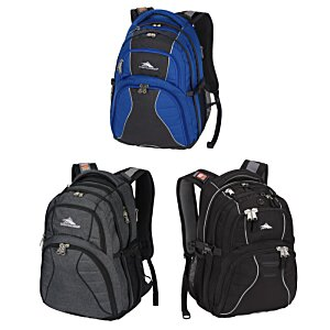 High Sierra Swerve Laptop Backpack - Embroidered Image 1 of 3