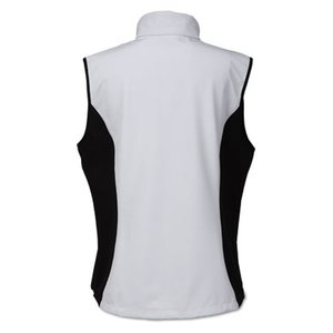 North End 3-Layer Soft Shell Vest - Ladies' Image 1 of 2