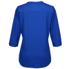 View Extra Image 1 of 2 of OGIO Stay-Cool Performance Henley - Ladies'