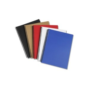 Spiral Matte Laminated Notebook - 10