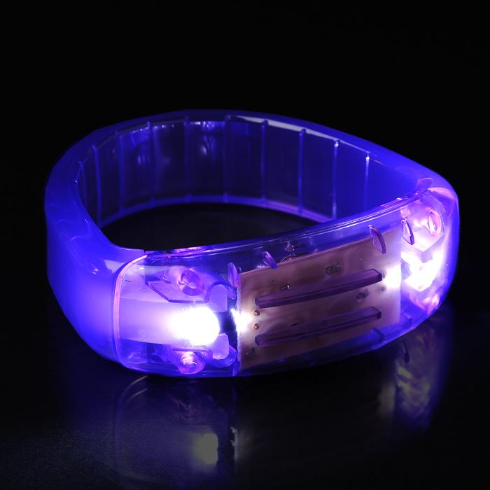 flashing led bracelet 24 hr 115479 24hr. Black Bedroom Furniture Sets. Home Design Ideas