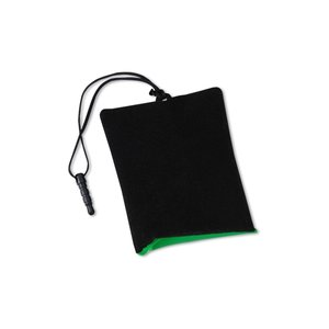 Cell Phone Cleaning Pouch with Ear Buds Image 3 of 4
