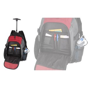 Optimus Wheeled Backpack - Closeout Image 3 of 3