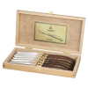 View Extra Image 2 of 3 of Laguiole 6-Piece Knife Set - 24 hr
